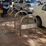 מתקנים לעגינת אופניים בהר-חוצבים
