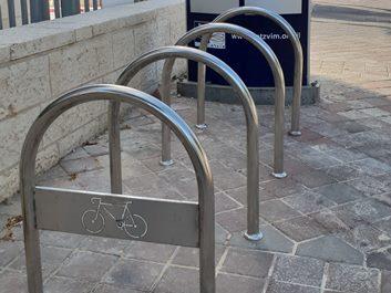 מתקני עגינת אופניים חדשים