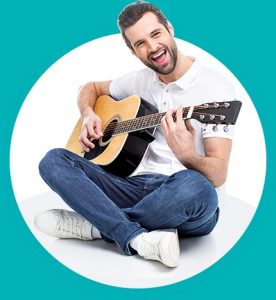 לימודי גיטרה, תמונה מאתר נגינה