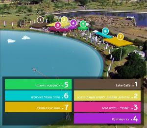 לייק תל אביב: מפה מהאתר
